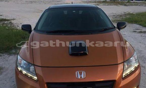 Buy Used Honda CR–Z Brown Car in Agolhitheemu in Raa