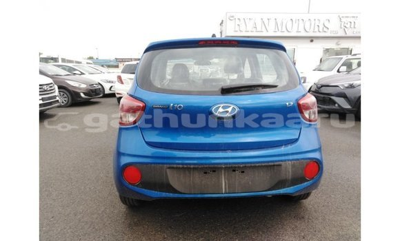 Buy Import Hyundai i10 Blue Car in Import - Dubai in Baa